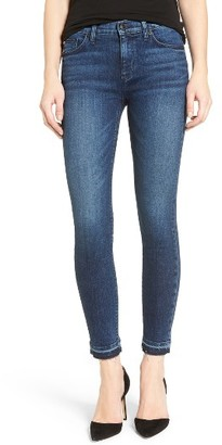 Women's Hudson Jeans Nico Released Hem Ankle Skinny Jeans $198 thestylecure.com