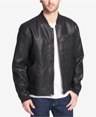 Levi's Men's Faux-Leather Depot Jacket