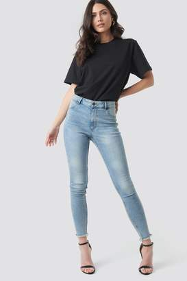 Cheap Monday High Spray Hex Blue Jeans Blue