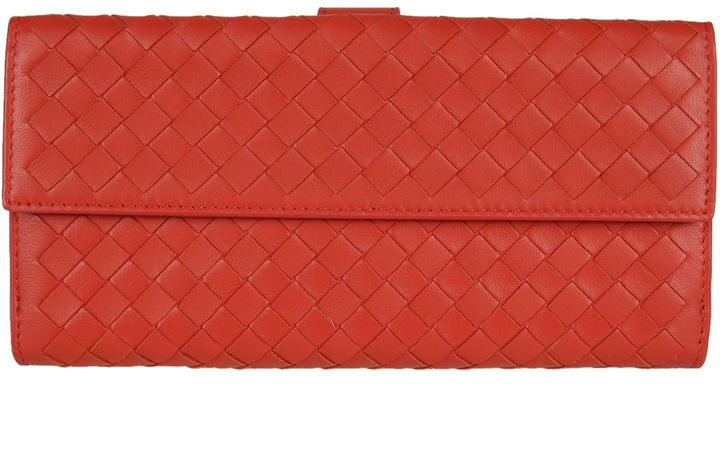 Bottega Veneta Bottega Veneta Leather Continental Wallet