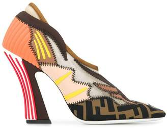 Fendi Court pumps