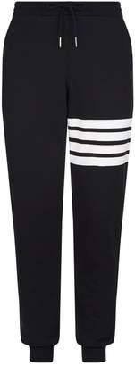 Thom Browne Striped Tapered Sweatpants