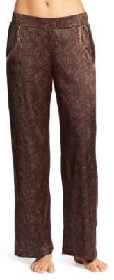 Hanro Adele Silk-Blend Wide-Leg Pants