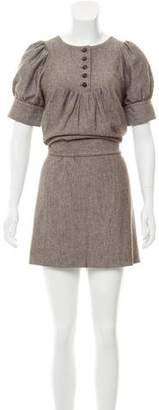 ADAM by Adam Lippes Wool Mini Dress