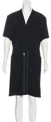 Maison Margiela Short Sleeve Knee-Length Dress