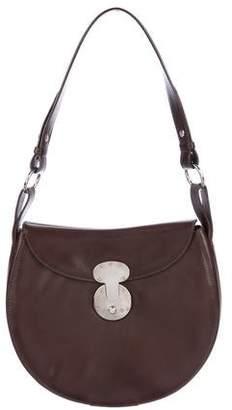 Ralph Lauren Ricky Leather Shoulder Bag