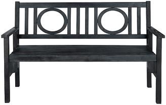 One Kings Lane Piedmont Bench - Dark Slate Gray