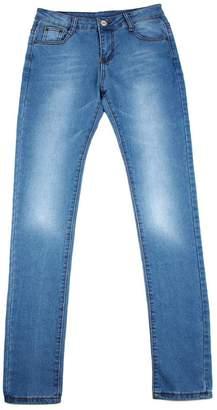 Billila Sexy Women Denim Skinny Pants High Waist Stretch Jeans Slim Pencil Trousers (M)