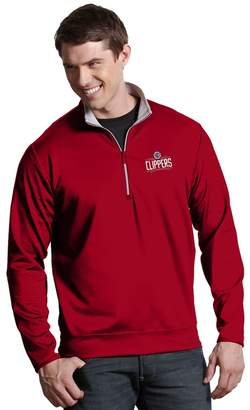 Antigua Men's Los Angeles Clippers Leader Pullover