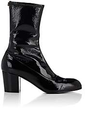 Gucci Men's Stretch-Patent-Leather Boots - Black Pat.
