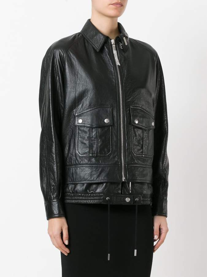 Saint Laurent slouchy parka jacket