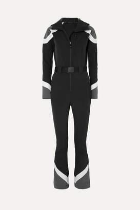 Perfect Moment - Allos Color-block Ski Suit - Black