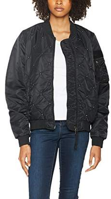 52eae582e Womens Padded Bomber Jacket - ShopStyle UK