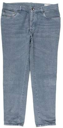 Brunello Cucinelli Five-Pocket Slim-Fit Jeans