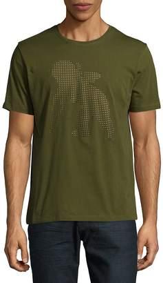 PRPS Men's Marksman Cotton Crewneck T-Shirt