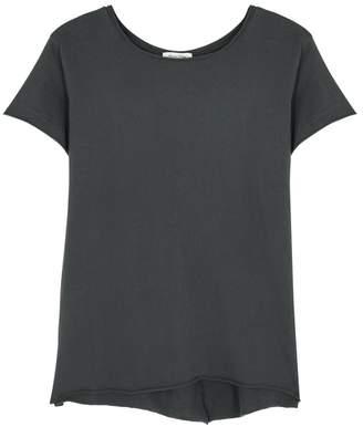 American Vintage Gami Dark Grey Cotton T-shirt