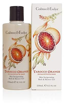 Crabtree & Evelyn Tarocco Orange, Eucalyptus & Sage Shower Gel 250ml