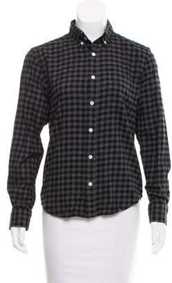 Steven Alan Flannel Button-Up Top