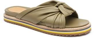 Bill Blass Padget Knotted Slide Sandal