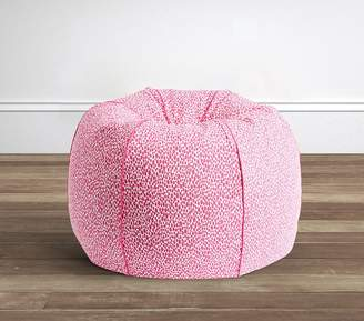 Pottery Barn Kids Bright Pink Dalmation Dot Anywhere BeanbagTM; Slipcover Only