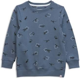 Sovereign Code Boys' Dinosaur-Print Sweatshirt