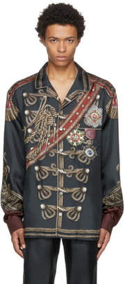 Dolce & Gabbana Green Knight Shirt