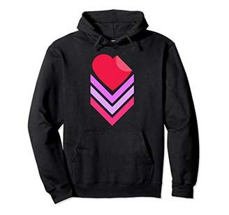 Summer Heart Graphic Fashion Hoodie