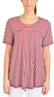 Asstd National Brand NY Collection High Low Swing Top - Petites