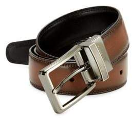 Perry Ellis Leather Double Side Belt