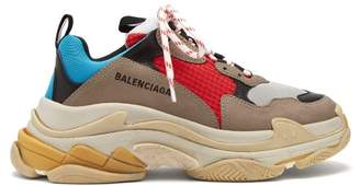 Balenciaga Triple S Low Top Trainers - Womens - Multi