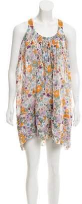 Zucca Floral Print Tent Dress