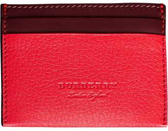 Burberry Two-Tone Card Case