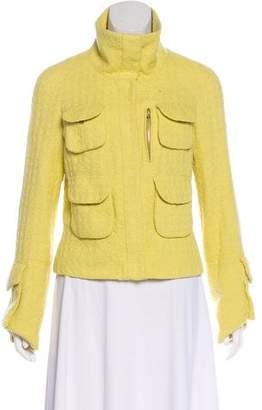 Tuleh Textured Snap-Front Jacket