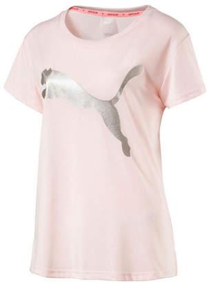 Puma Urban Sports Logo Tee Short Sleeve Scoop Neck Graphic T-Shirt