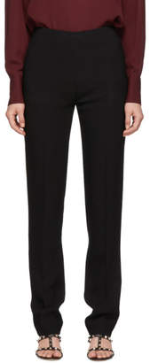 Valentino Black Fitted Trousers