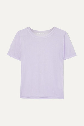 Georgia Alice - Penelope Cropped Knitted Top - Lilac