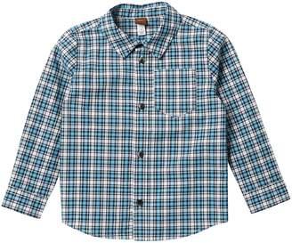 Tea Collection Heath Button Down Shirt (Toddler Boys)