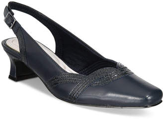 Easy Street Shoes Stunning Slingback Pumps Women's Shoes