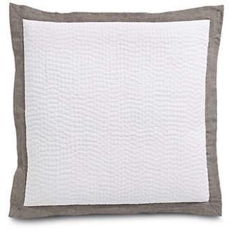 Hotel Collection Textured Cotton Euro Sham