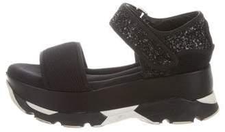 Marni Neoprene Platform Sandals