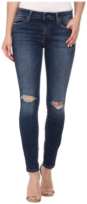 Joe's Jeans The Icon Skinny Ankle in Terra $185 thestylecure.com
