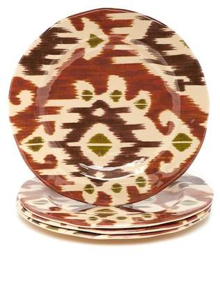 tag Ikat Melamine Dinner Plate - Set of 4