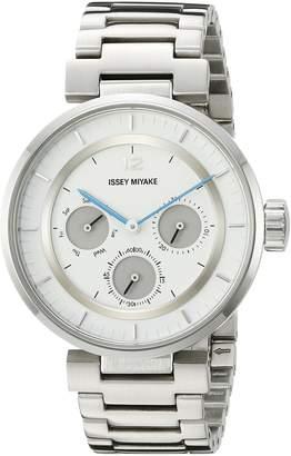 Issey Miyake Women's SILAAB01 W Mini Stainless Steel Watch