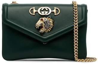 Gucci green Rajah leather cross-body bag