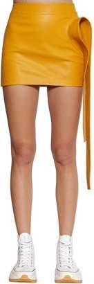 J.W.Anderson High Waist Leather Mini Skirt