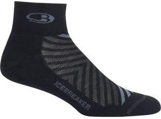 Icebreaker Run+ Mini Light Cusion Sock - Men's