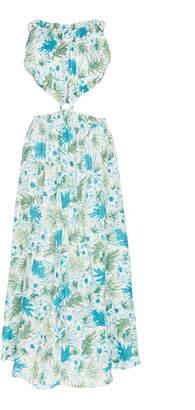 Cult Gaia Theia Floral Cutout Gown