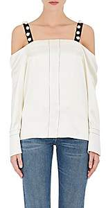 3.1 Phillip Lim Women's Embellished Silk Top - Cream