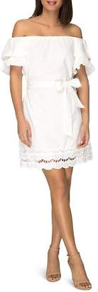 Bobeau B Collection by Diem Off-the-Shoulder Cotton Dress