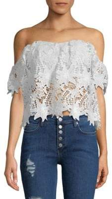 ASTR the Label Adela Lace Top